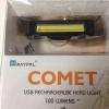 **สินค้าพรีออเดอร์**(ไฟหน้า/ไฟท้าย)USB ไฟขี่จักรยาน ส่องสว่างมาก (ไฟ COMET)
