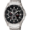 Casio EDIFICE MULTI-HAND รุ่น EF-334D-1AV