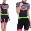 **สินค้าพรีออเดอร์**ชุดปั่นจักรยาน LIFETONE ผู้หญิงลายสวย (เสื้อ+กางเกงขาสั้น)