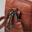 LT36-Black กระเป๋าร้อยเข็มขัด กระเป๋าคาดเข็มขัด หนัง PU สีดำ (มีสายสะพาย) thumbnail 13