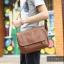 LT11-Brown กระเป๋าสะพายข้าง หนัง PU สีน้ำตาล thumbnail 19