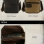 CV11-Khaki กระเป๋าสะพายข้าง ผ้าแคนวาส สีกากี thumbnail 12