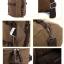TR01-Brown กระเป๋าเป้เดินทาง ผู้ชาย สีน้ำตาล thumbnail 5