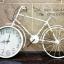 นาฬิกาติดผนังแนววินเทจ รุ่นจักรยานขาว thumbnail 1