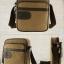 CV11-Khaki กระเป๋าสะพายข้าง ผ้าแคนวาส สีกากี thumbnail 2
