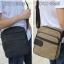 CV11-Khaki กระเป๋าสะพายข้าง ผ้าแคนวาส สีกากี thumbnail 6