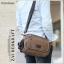 CV16-Brown กระเป๋าสะพายข้าง ผ้าแคนวาส สีน้ำตาล thumbnail 2