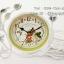 นาฬิกาตั้งโต๊ะ Vintage Style ตะกร้าสีขาว thumbnail 1