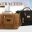 CV15-Black กระเป๋าสะพายข้าง ผ้าแคนวาส MO&Y สีดำ thumbnail 6