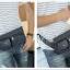 NY02 กระเป๋าคาดอก กระเป๋าคาดเอว ผ้าไนลอนลายพราง สีกรมท่า thumbnail 6