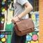 LT11-Brown กระเป๋าสะพายข้าง หนัง PU สีน้ำตาล thumbnail 14