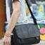 LT11-Black กระเป๋าสะพายข้าง หนัง PU สีดำ thumbnail 10