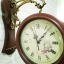 นาฬิกาติดผนัง 2 หน้า สีไม้ ดีไซน์หลุยส์ thumbnail 3