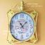นาฬิกาแขวนติดผนัง Vintage Style สีเหลือง สำหรับตกแต่งร้านเก๋ๆไม่เหมือนใคร thumbnail 1