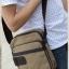 CV11-Khaki กระเป๋าสะพายข้าง ผ้าแคนวาส สีกากี thumbnail 4