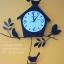 นาฬิกาบ้านนกสีดำ นาฬิกาติดผนังเก๋ๆ thumbnail 1