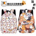 กระเป๋าคอสเพลย์ชายแฟชั่น Natsume/kumamon แต่งพิมพ์ลาย