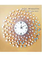 นาฬิกาติดผนัง Modern Style รุ่นรัศมีกระจกเยอะ