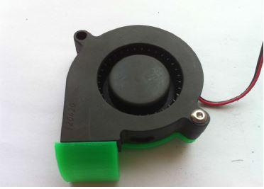 พัดลมเป่าชิ้นงาน สำหรับ เครื่องพิมพ์ 3 มิติ