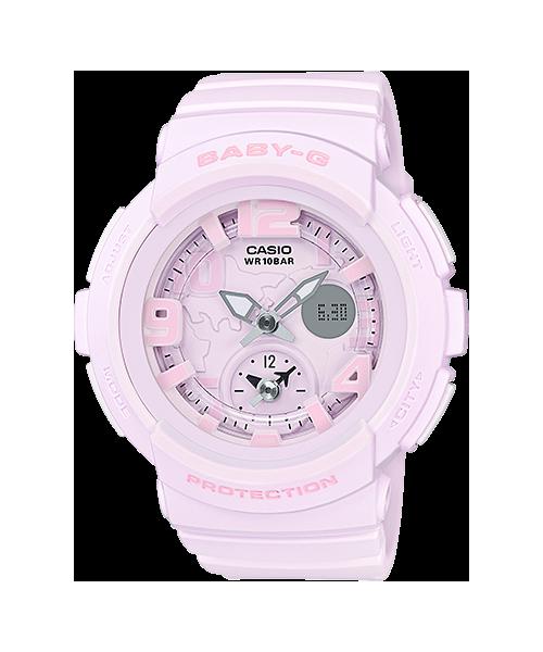 Casio Baby-G Beach Traveler Bold Color series รุ่น BGA-190BC-4B