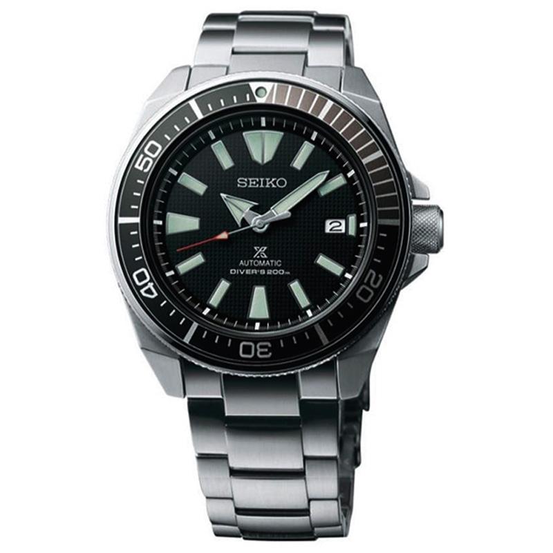 นาฬิกา SEIKO SAMURAI BLACK Automatic JAPAN Made SRPB51J1 Seiko ซามูไร ดำ