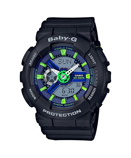 Casio Baby-G Punching Pattern series รุ่น BA-110PP-1A
