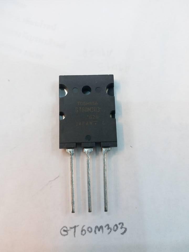 GT60M303โตชิบ้าTOSHIBA IGBT N-Channel 60A / 900VGT60M303Qราคาตัวล่ะ