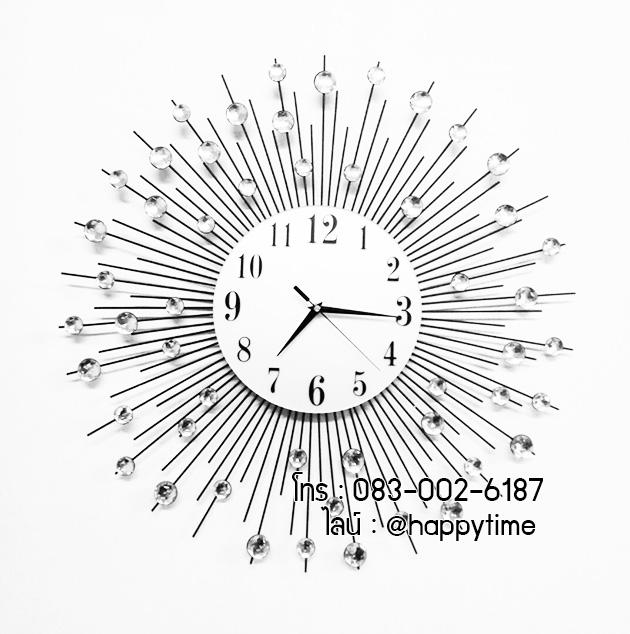 นาฬิกาแขวนติดผนัง รุ่นรัศมีพลอยเล็กไซส์ 60 ซม.