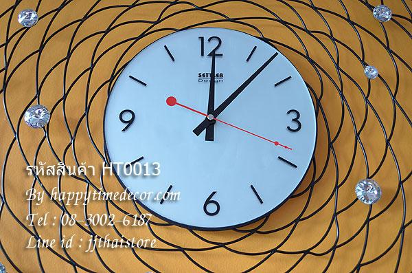 นาฬิกาติดผนังสไตล์โมเดิร์น