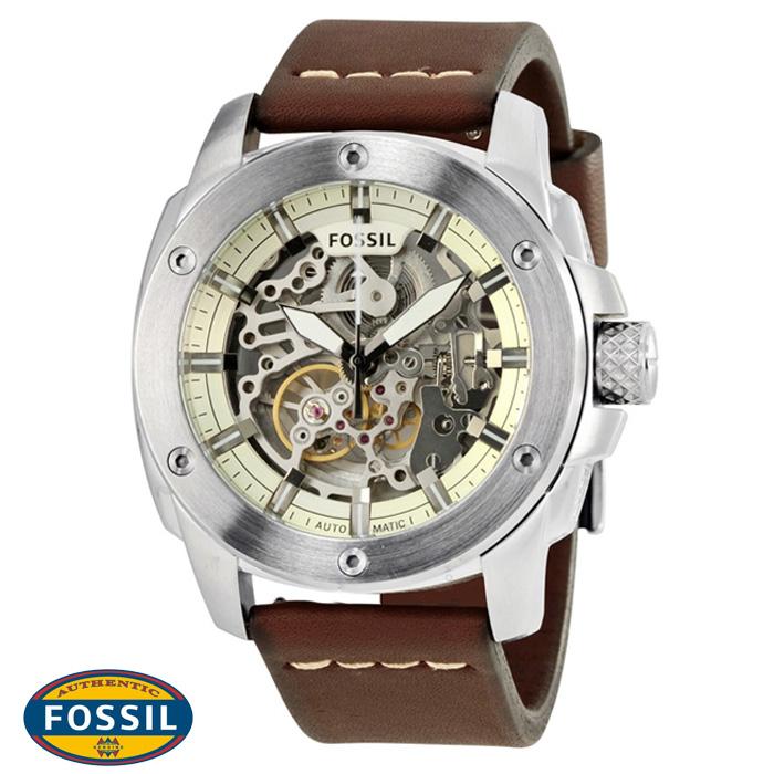 นาฬิกา FOSSIL ME3083 Men Watch Automatic Movement Leather Strap 50 mm