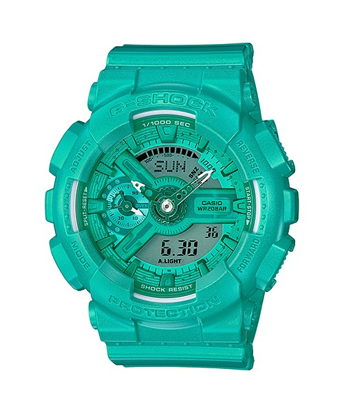 Casio G-Shock S-Series Vivid Colors รุ่น GMA-S110VC-3A