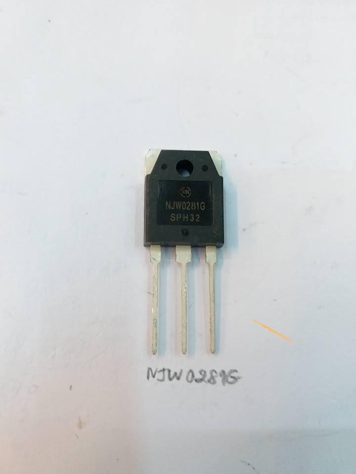 NJW0281GตัวถังTO-3Pทรานซิสเตอร์TRANSISTER AUDIO AMPLIFIERยี่ห้อON-SEMIราคาตัวล่ะ