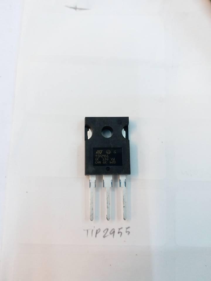 ทรานซิสเตอร์เบอร์TIP2955ราคาตัวล่ะตัวถังTO-247ยี่ห้อST MICROELECTRONICSTRANSISTERชนิดNPN