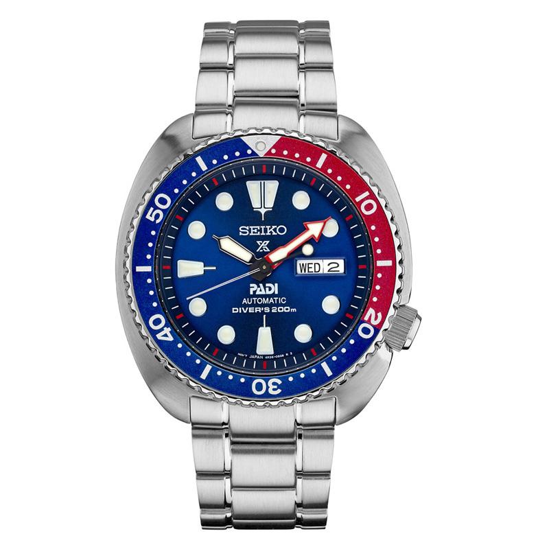 นาฬิกา SEIKO PADI PEPSI Automatic JAPAN SRPJ21 Seiko padi แป๊บซี่