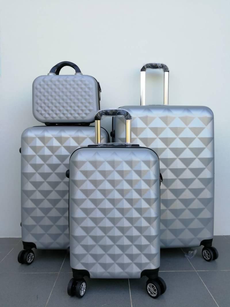 กระเป๋าเดินทางไฟเบอร์ล้อลาก ขนาด 28 นิ้ว