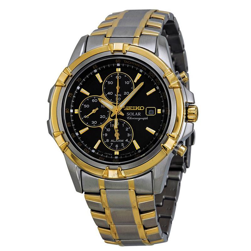 นาฬิกา Seiko Men Chronograph Solar System Premier seiko ssc142P สาย Stainless สองกษัตริย์