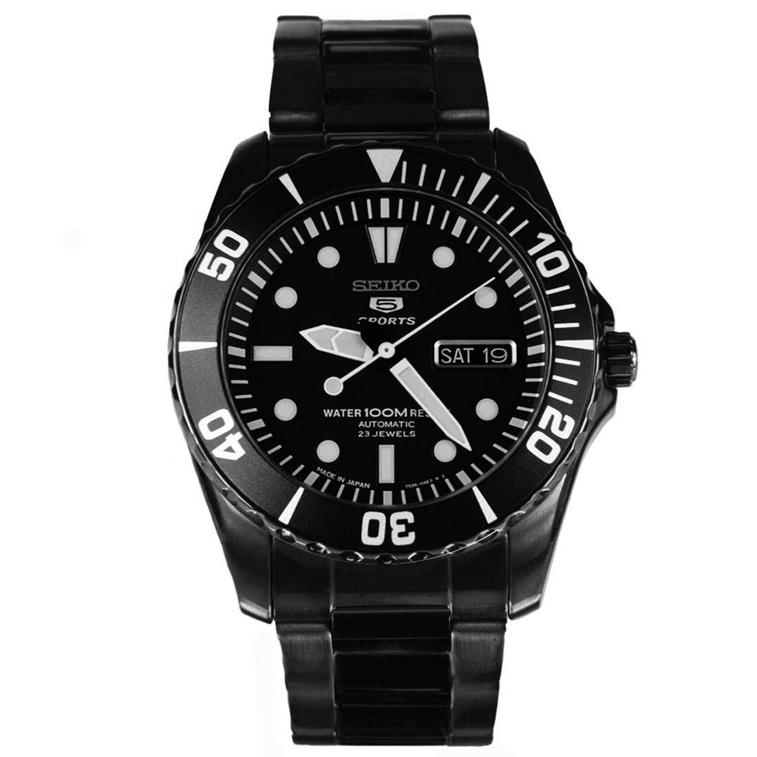 SEIKO 5 SNZF21J1 AUTOMATIC DIVING WATCH SNZF21J