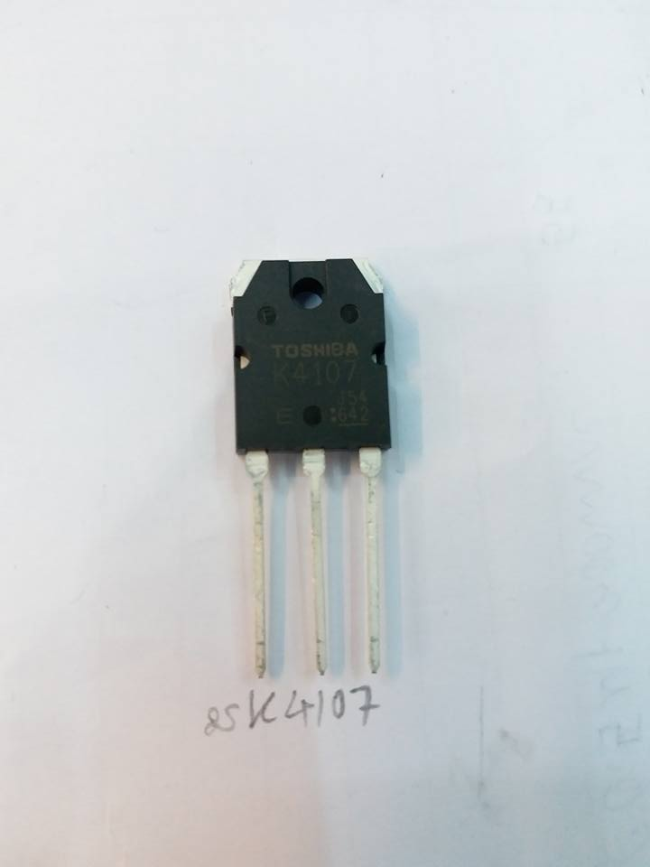 2SK4107,MOSFETมอสเฟสตัวถังTO-247 TOSHIBAโตชิบ้าราคาตัวล่ะ