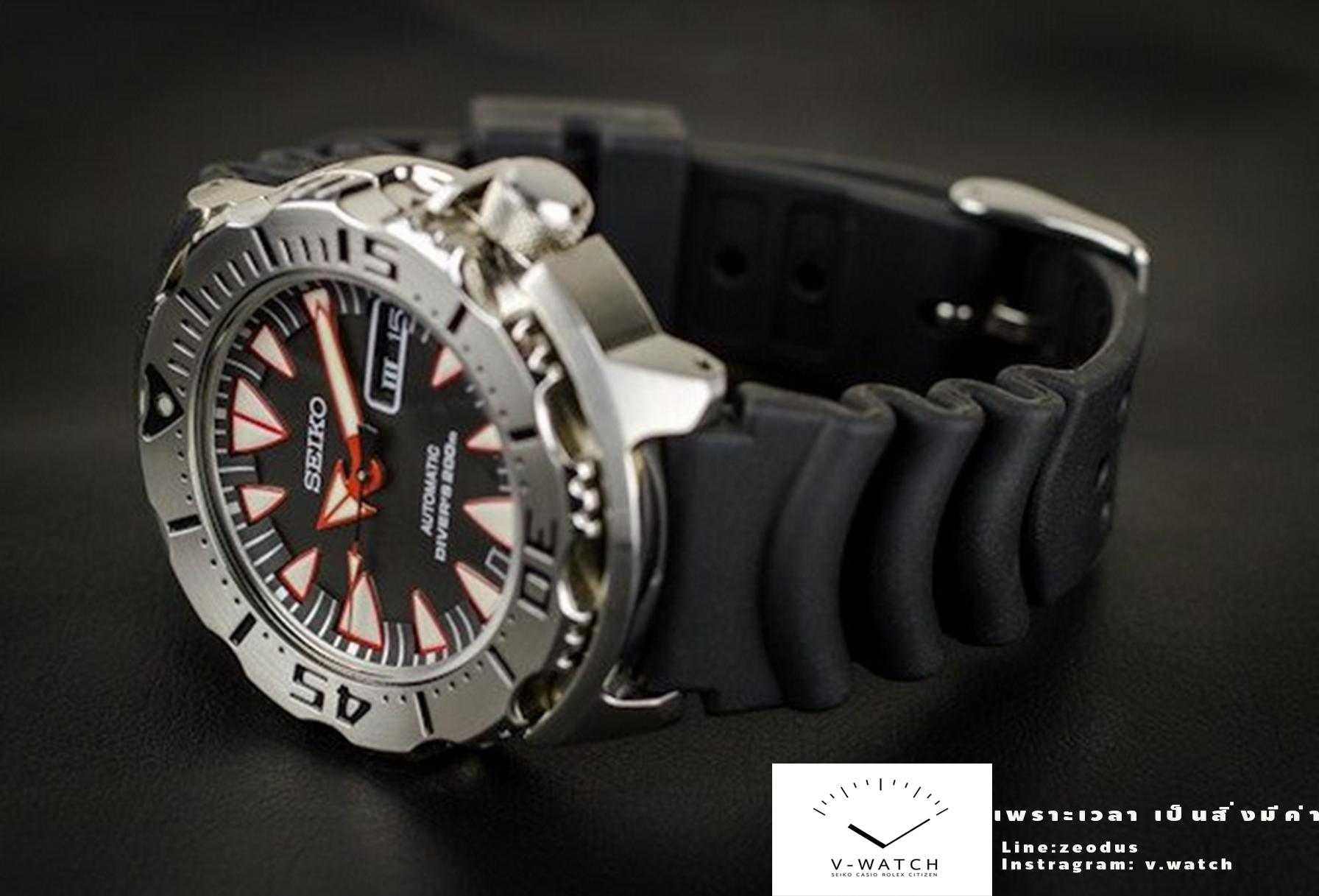 นาฬิกา Seiko Monster Dracula Fang SRP313K1