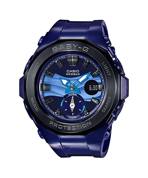 Casio Baby-G Beach Glamping series รุ่น BGA-220B-2A