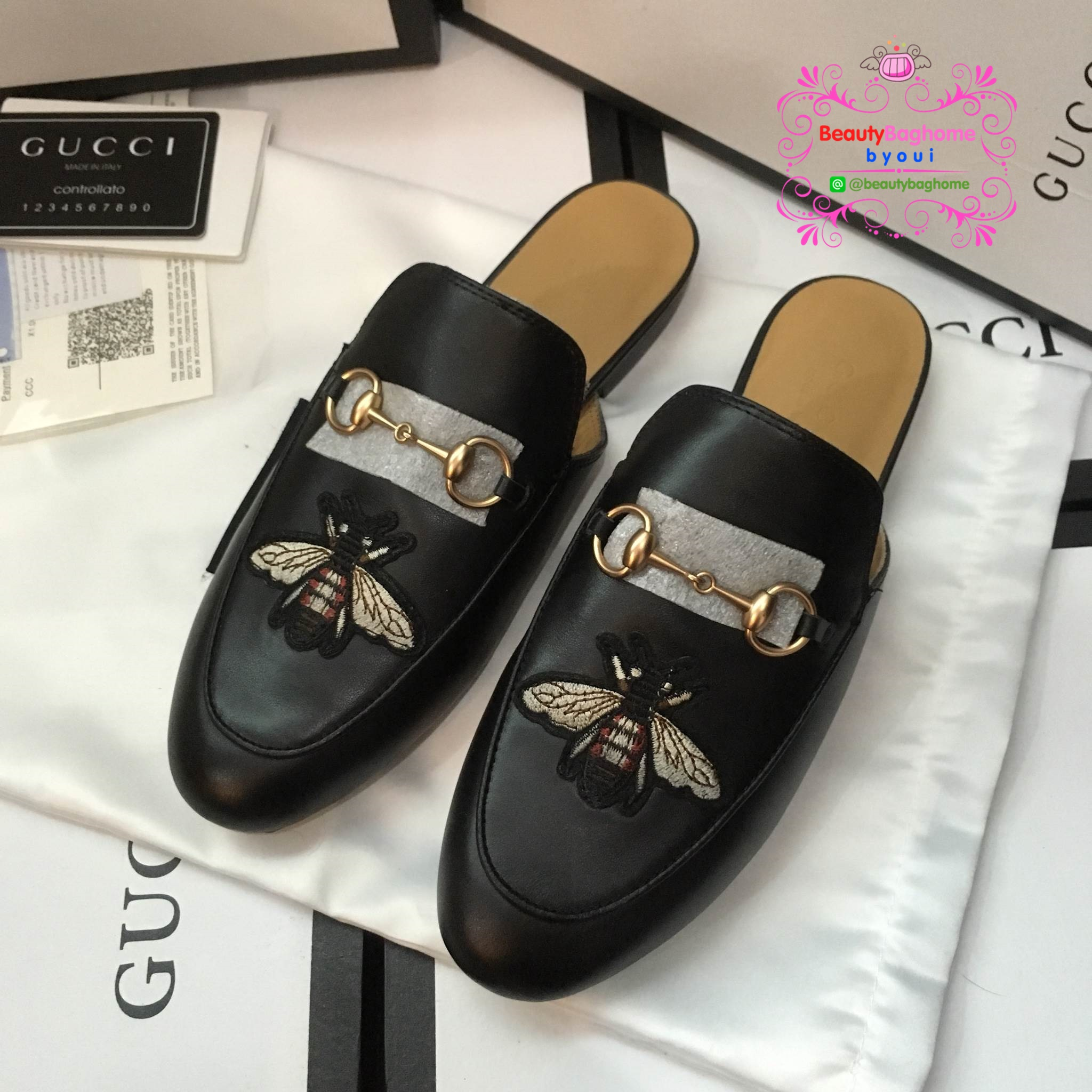 รองเท้า Gucci งานHiend 1:1