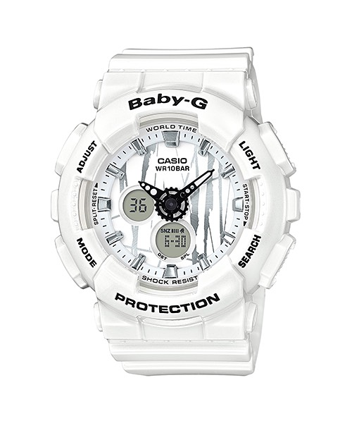 Casio Baby-G Scratched Pattern series รุ่น BA-120SP-7A