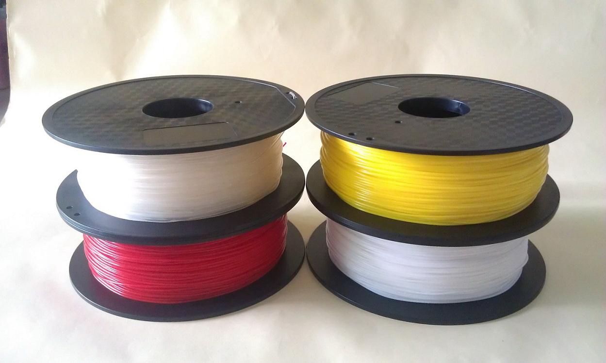 Rubber TPU Filament ( เส้นพลาสติกยาง TPU สำหรับ 3D printer )