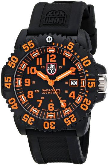 Luminox รุ่น LUMINOX 3059 EVO Navy Seal Dive Watch Colormark (Orange)