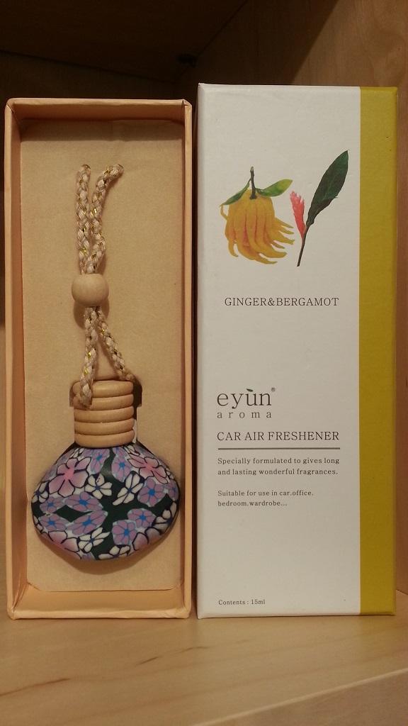 Eyun aroma Car Air Ginger&Bergamot 15ml.Price ราคา 200 บาท.