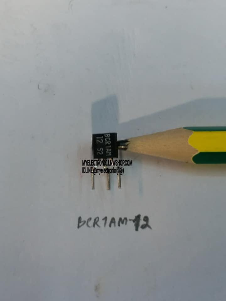 BCR1AM-12LไตรแอคTRIACตัวถังTO-92ราคาตัวล่ะ