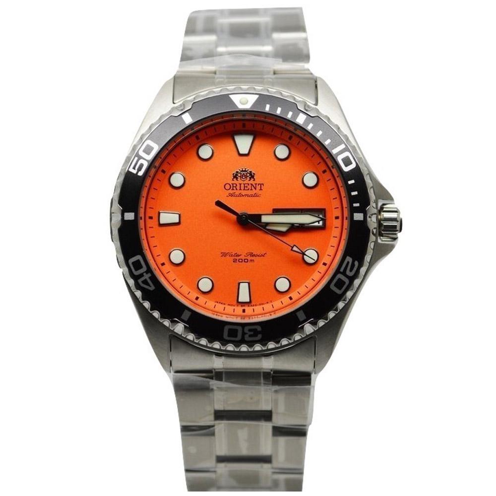 นาฬิกา Orient Automatic Orange หน้าส้ม FAA02006M9 Diver 200m
