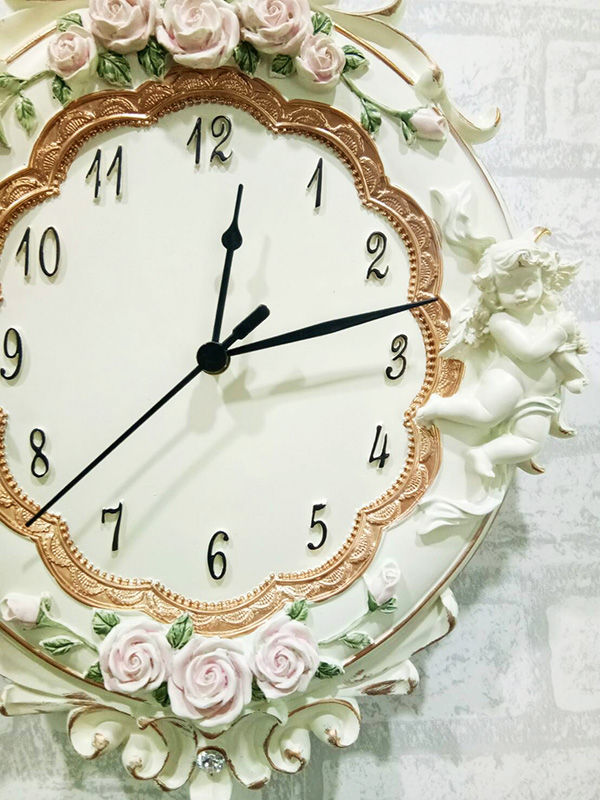 นาฬิกาเรซิ่นติดผนัง