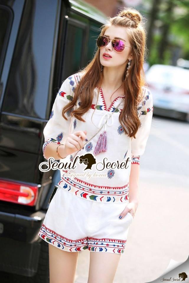 Seoul Secret Say's... Sofitail Bohe Style Chic Set