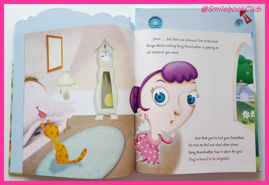 A Day at Fairy Grandmother's : INTERACTIVE STORYBOOK By Hallmark